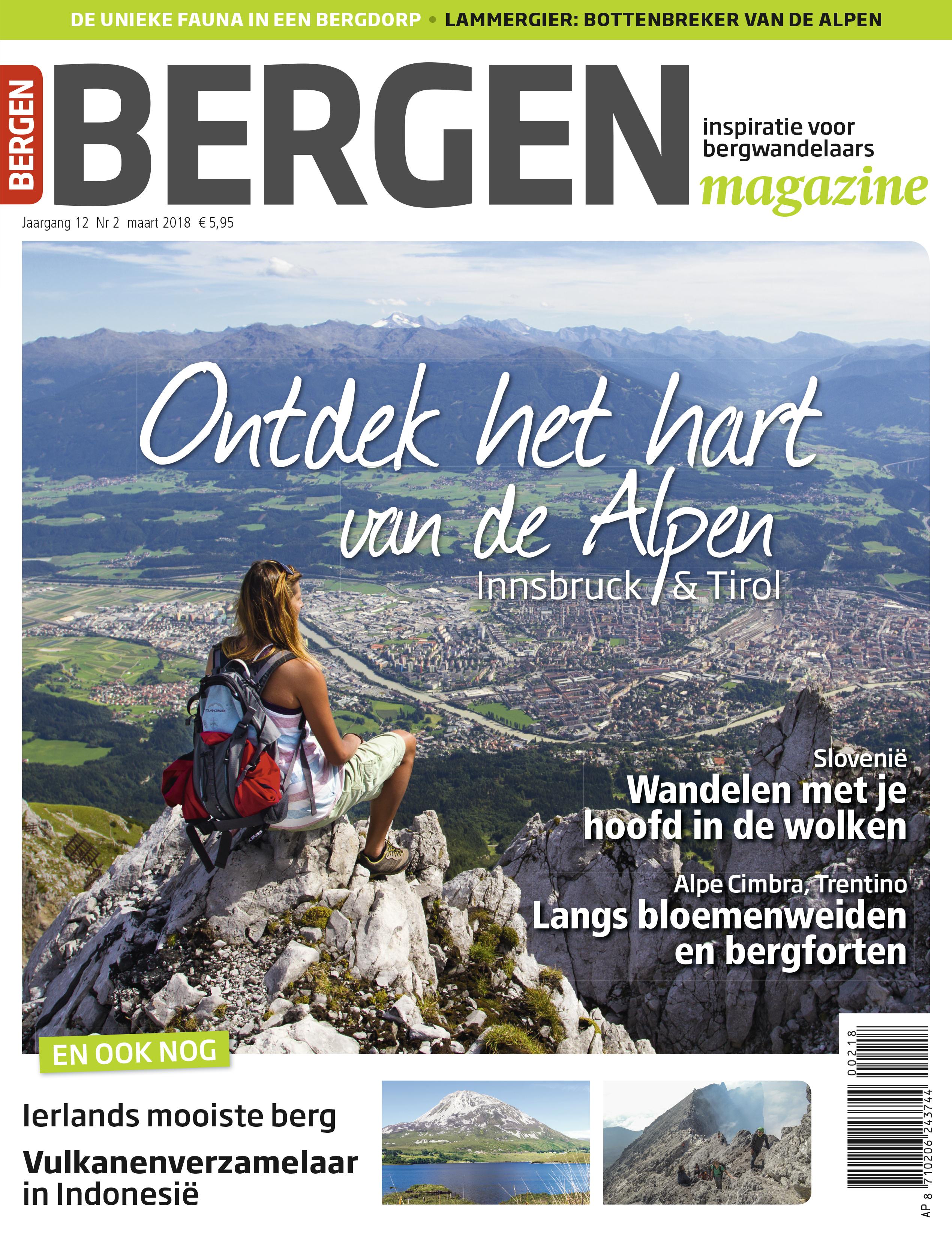 Bergen magazine cover