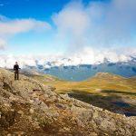 Uitzicht op Venjesdalen onderweg naar Steinfjellet