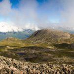 Uitzicht op Venjesdalen onderweg naar Romsdalseggen