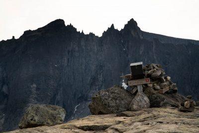 Uitzicht op Trolltindene vanaf Litlefjellet