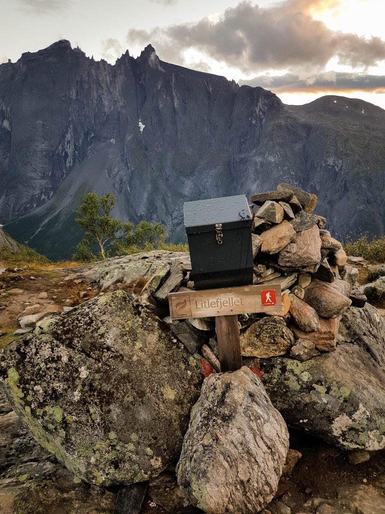 De brievenbus op Litlefjellet