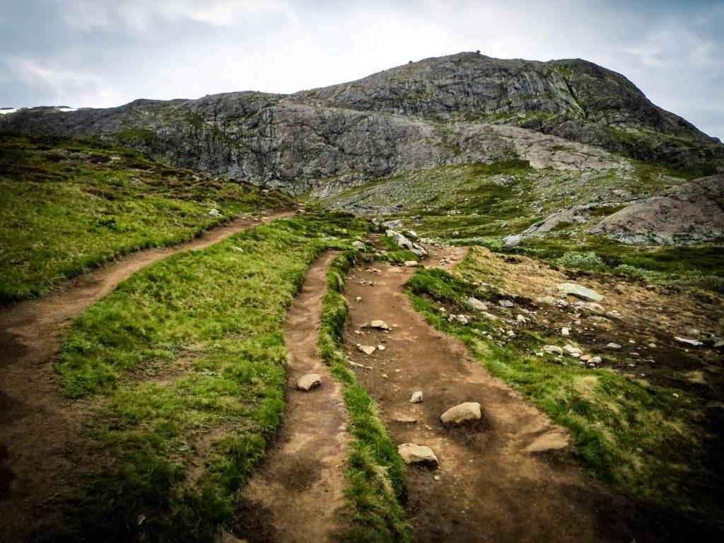 Vakantie Noorwegen - wandelen naar Besseggen