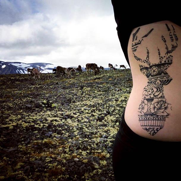 Vakantie Noorwegen - dubbele rendieren op Besseggen