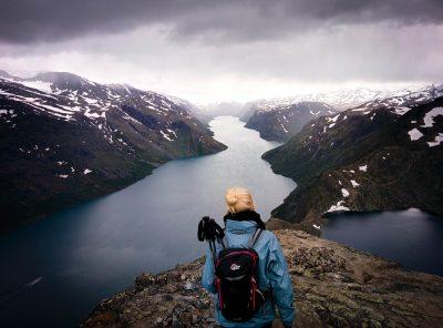 Vakantie Noorwegen - Het uitzicht vanaf Besseggen