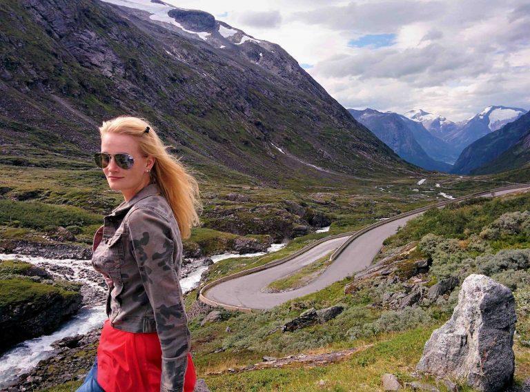 Nationaal Toeristische Routes - Uitzicht over Gamle Strynefjellsvegen