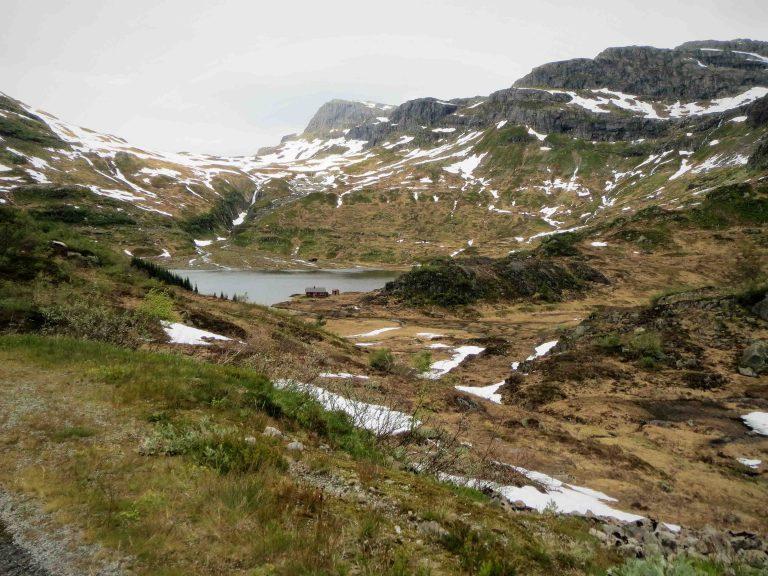 Nationaal Toeristische Routes - Een verstopte cabin langs de bergweg Ryfylke