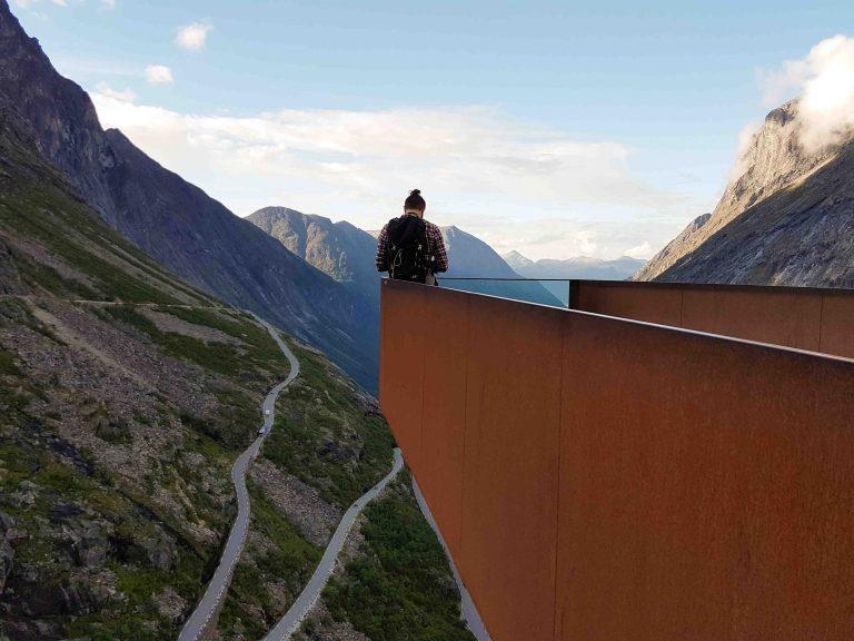 Nationaal Toeristische Routes - Uitzicht over Trollstigen, één van de mooiste wegen