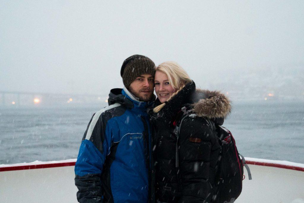 Walvissafari op de ijzige wateren nabij Tromsø