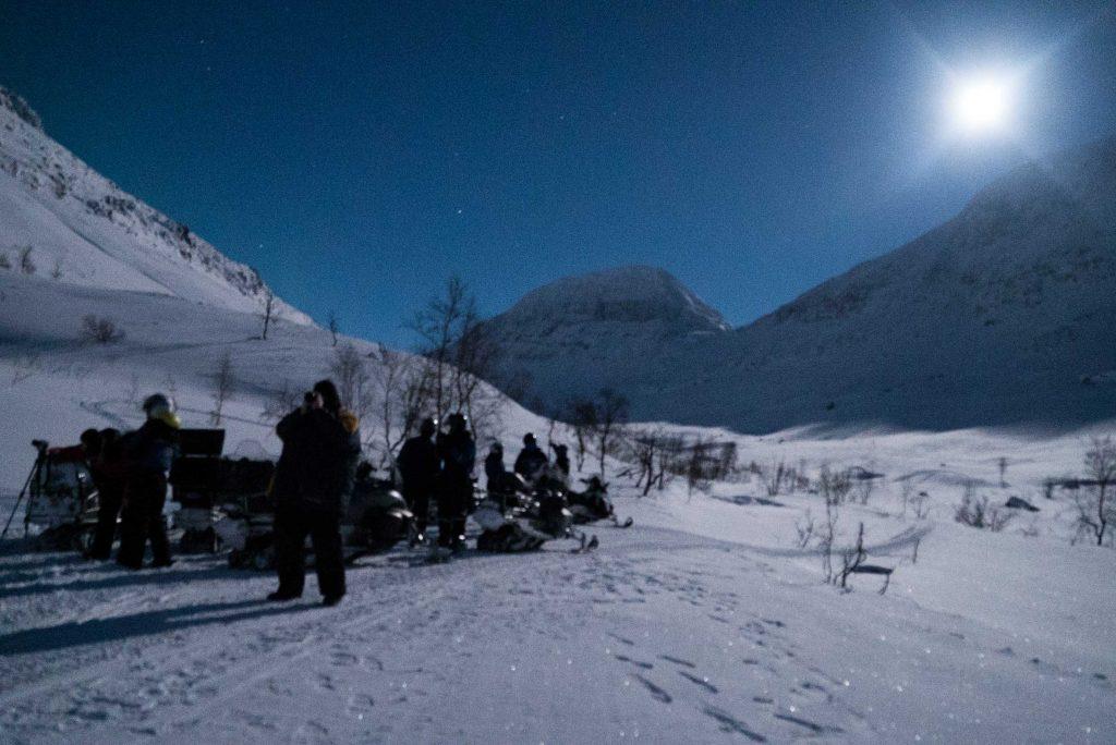 Sneeuwscootertocht door Signaldalen, nabij Tromsø