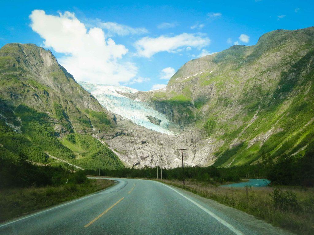 Boyabreen gletsjer in Noorwegen