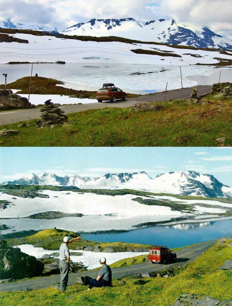 Sognefjellsvegen Noorwegen