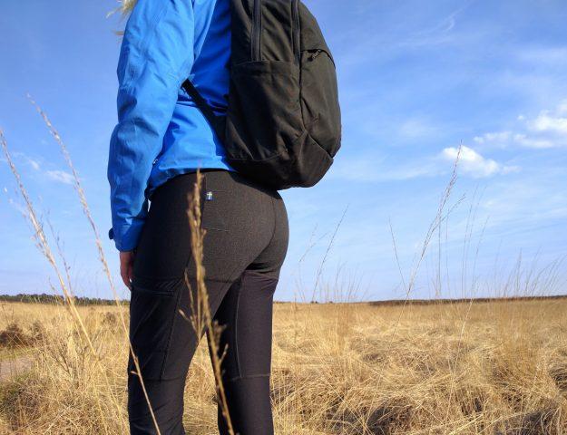 Fjällräven Abisko Trekking Tights op de Veluwe