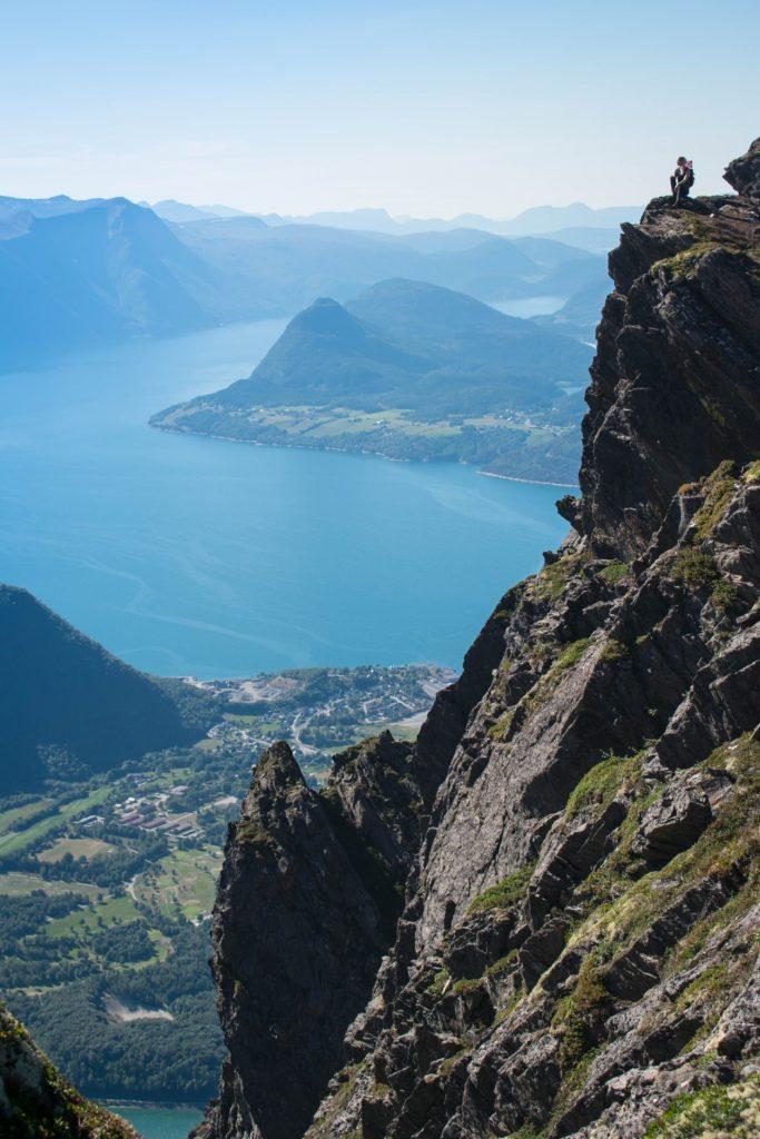 Uitzicht over Andalsnes
