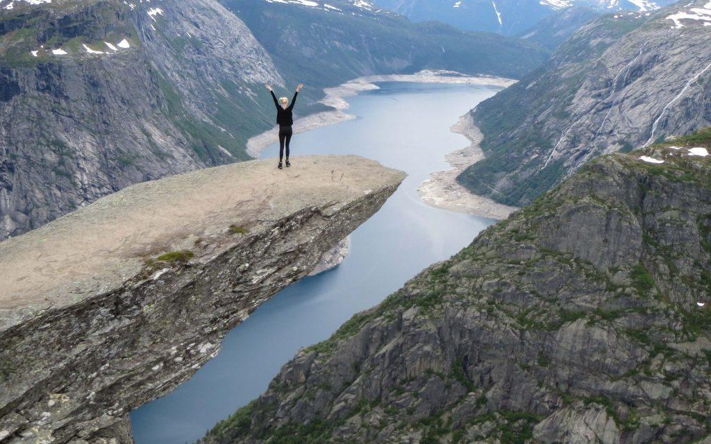 Wandelen in fjord-Noorwegen: Trolltunga