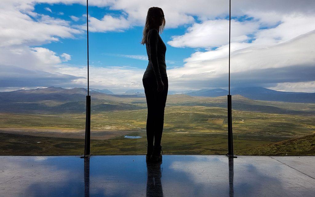 Snohetta uitkijkpunt in Noorwegen