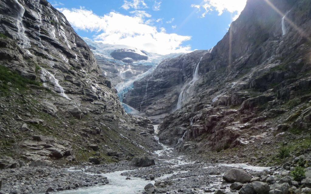 Wandelen in fjord-Noorwegen: Kjenndalsbreen