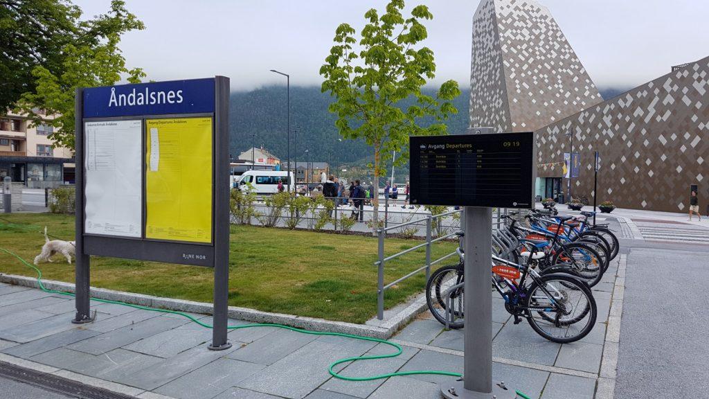 Het station van Åndalsnes