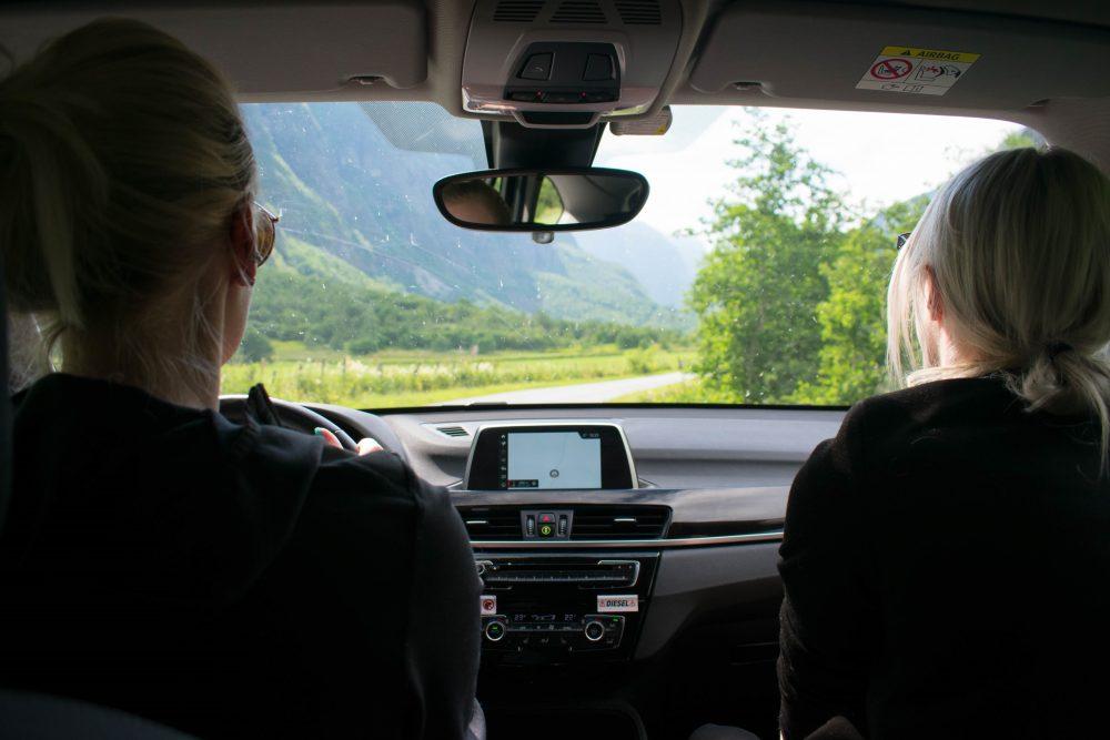 Tol betalen Aursjovegen Noorwegen