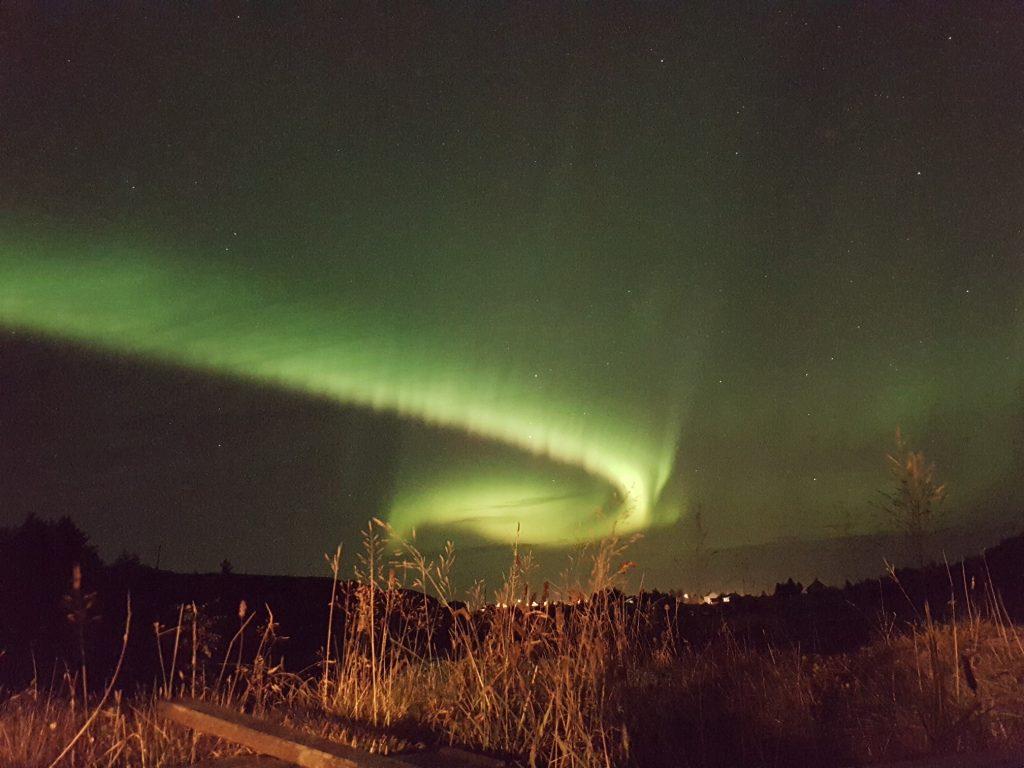 Noorderlicht op Smola