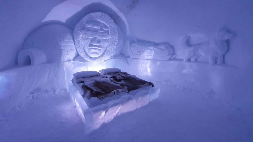 De Inuitkamer van Tromsø Ice Domes